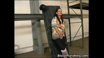 Hard-core bondage and brutal punishement