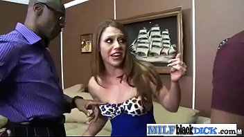 (scarlett wild) Horny Mature Lady Busy On Hard Long Black Dick clip-26