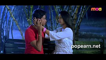 Cute teen enjoying at night at park from telugu movie ee vayasulo