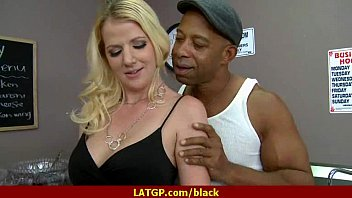 Hot MILF deepthroats gags and gets banged by a black cock 2