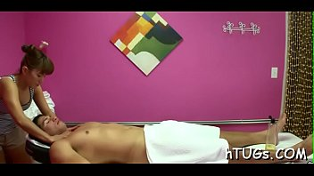 this tremendous ultra-cutie does her masseuse job supplementary well