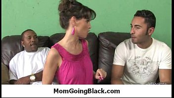Nasty mom rides huge black monster cock 26
