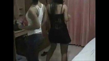two jokey beautiful dancing thaigirls in.