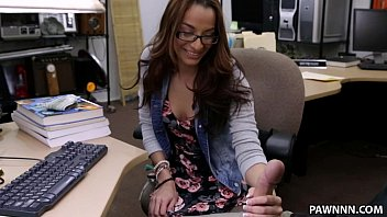 College Student Banged in my pawn shop! - XXX Pawn
