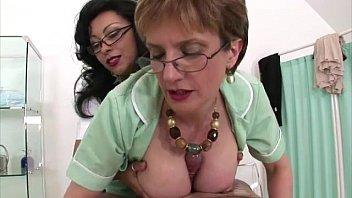 humungous-titted mature nurses get bean necklace