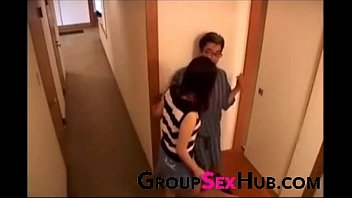 Japanese mom craves sons cock - Watch free porn videos on GroupSexHub.com