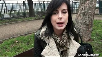 public pickups - jaw-dropping chick pulverizes in public.