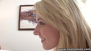 teamskeet blondie ultra-cutie tears up her.