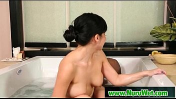 Japanese Nuru Massage With Busty Asian Babe Video 25