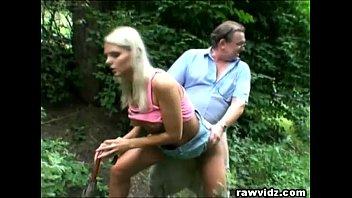 perv parent nails molten blondie nubile at the park
