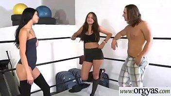(Chloe Addison) Honry Sexy Girl Strip And Bang For Money vid-05