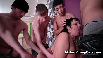 ample elderly wifey gets poked rigid in a youthful