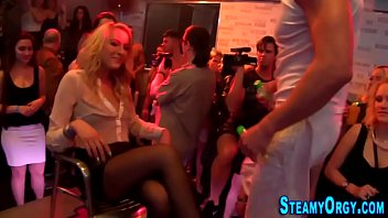Cfnm party teen pounded