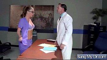 fucky-fucky escapade on camera inbetween medic and patient.