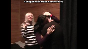 stud squashing bare student booties and nailing the twat