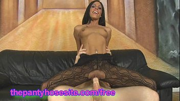 Hardcore Latina Eva Ellington In Pantyhose