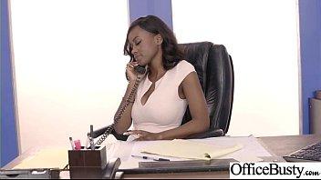 Sex Tape With Slut Busty Hot Office Nasty Girl (Jezabel Vessir) video-28
