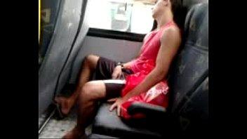 a man sleeping on bus socuteno.