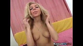 Blonde Russian Whore Creampied