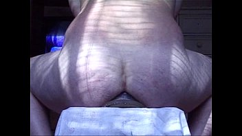 giant buttplug gapes his ass