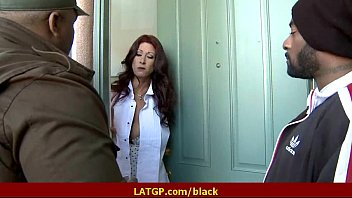 The best Interracial and Milf adult reality video 38