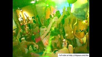 supah-naughty magnificent girls deepthroating stiff schlongs in the disco