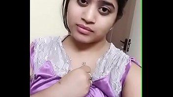 Desi girl teasing by dress change