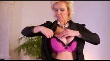 ginormous jug ash-blonde mother