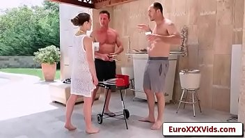 Double Dicking Doll with Tiffany Doll-01 in Euro Sex Gangbang Party