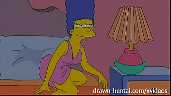 lezzy manga pornography - lois griffin and marge simpson