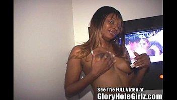 Hot Ebony Anal Slut Denea Takes A Strangers Creampie In The Gloryhole!