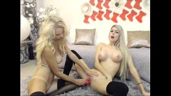 supah-steamy finn light-haired lesbos on webcam.