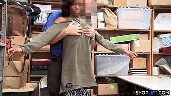 supah-hot black shoplifting teenager rock hard humped by.