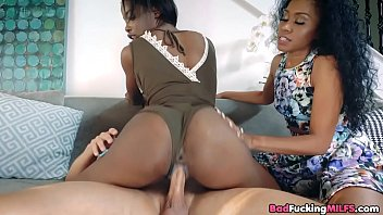 dark-hued step-mother fuckin' daughter039_s bf