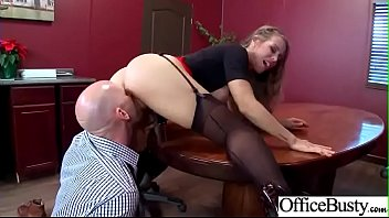 nicole aniston scorching office lady with gigantic bosoms.