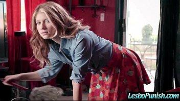 Sex Toys Punish Action Between Horny Lesbian Girls (Arya Fae &amp_ Raven Hart) vid-06
