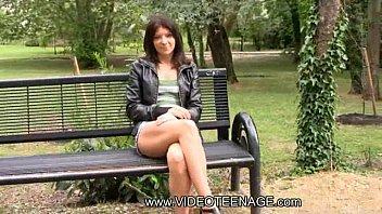 18yo european girl casting