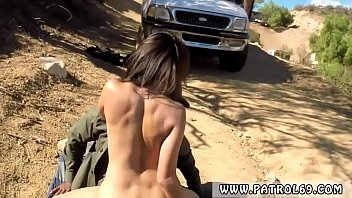 Fake cop cumshot Latina Babe Fucked By the Law