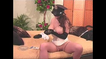 Self-bondage - Female police