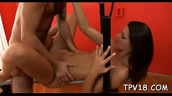 juicy honey plays with knob of guy after.