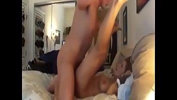 homemade brunette fucked on the bed