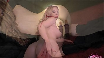 Angela Sommers ass worship riding a dildo