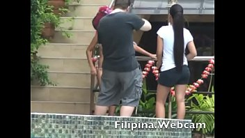 filipinawebcam cam gals killer swimsuit pool soiree competition.