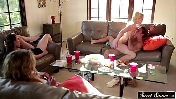 meaty-titted cougar romped in front of.