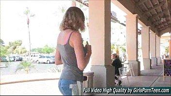 Anya pussy public hot amateur slut blonde