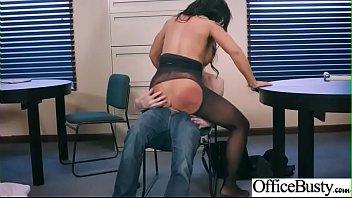 (Simone Garza) Office Sluty Busty Girl Love Intercorse clip-29