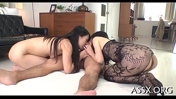 Asian cowgirl with big anal intercourse