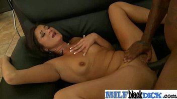 Hardcore Sex With (cece stone) Mature Lady Busy On Black Long Cock clip-10