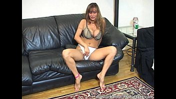Big titted instructor'_s proper jerk off demonstration