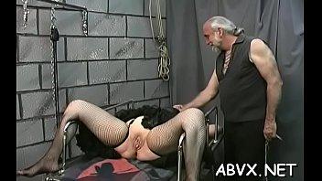 old spanked on livecam